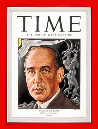 Time Magazine cover featuring C. S. Lewis. Sept. 8, 1947.