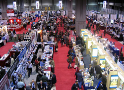 Small portion of the scholarly book display at the annual meeting of the SBL in Washington, 2007. Photo by Ferrell Jenkins.
